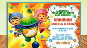 Invitacion Equipo Umizoomi Gratis Todo Gratis Para Tu Fiesta