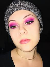 write about your trending makeup looks