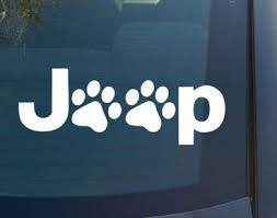2020 Wholesale Wrangler Cat Dog Paw Paws Print Feet Vinyl Car Decal Decals Sticker Window For Jeep From Circlejuan 34 6 Dhgate Com
