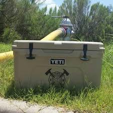 Yeti Cooler Personalized Decals Cavella Design