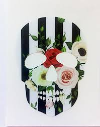 Floral Sugar Skull Vinyl Decal Sticker F Buy Online In Jordan At Desertcart