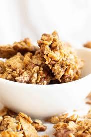 healthy chunky granola recipe vegan