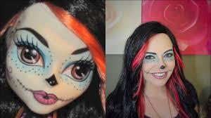 skelita calaveras monster high makeup