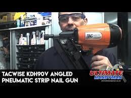 kdh90v angled pneumatic strip nail gun