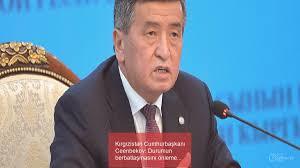 Kırgızistan Cumhurbaşkanı Ceenbekov: Durumun Berbatlaşmasını önlemek Için  Mümkün Olan Tüm Tedbirleri Aldık - Niburya