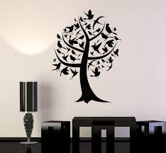 Wall Decal Tree House Decoration Birds Forest Art Room Vinyl Stickers Wallstickers4you