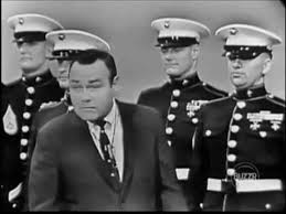 US Marines drill to commands of Jonathan Winters and four other ...