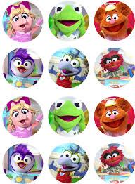 Muppet Babies Cupcake Toppers Fiestas De Cumpleanos De Bebe