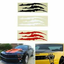 Auto Parts Accessories Rally Scar Hash Stripes Scratch Decal Chevy Dodge Ford Mustang Camaro Corvette Smaitarafah Sch Id