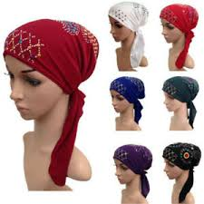 muslim hijab cancer hat chemo inner cap