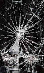 خلفيات زجاج محطم و مكسر للموبايل ايفون سوداء Hd 2020 مربع