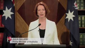 PM Julia Gillard Addresses the End of ...