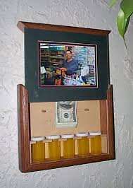picture frame with secret stash