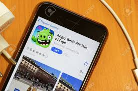 New York, USA - 15 May 2020: Angry Birds AR Isle Of Pigs Mobile.. Stock  Photo, Picture And Royalty Free Image. Image 147100985.