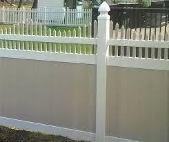 New York Privacy Fence Vinyl Privacy Fence By Vinyl Fence Wholesaler
