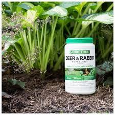 Liquid Fence 2 Lb Deer And Rabbit Repellent Granules Hg 70266 2 The Home Depot