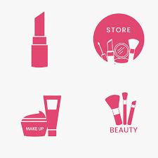 makeup logo free vectors stock