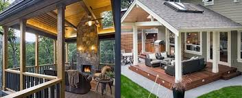 top 40 best deck roof ideas covered
