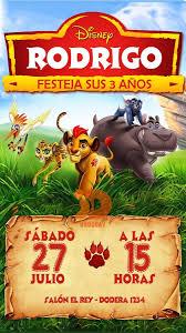 Invitacion Tarjeta Digital La Guardia Del Leon 160 00 En