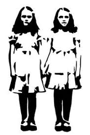 The Shining Grady Twins Vinyl Decal Horror Movie Stephen King Bumper Sticker Ebay