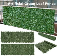 Home Decor Artificial Ivy Leaf Hedge Garden Fence Panel Wedding Plant Grass Wall 40x60cm Uk Sarathaarts Ac In