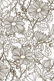Màu đặc Tô Màu Hoa Vườn, Tay, Màu đặc, Vật Hình nền Vector để tải ...
