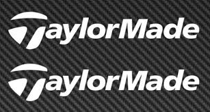 Taylormade Golf Logo Vinyl Sticker Decal Car Truck Window Taylor Made For Sale Online