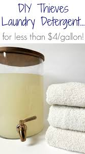 diy thieves laundry detergent for