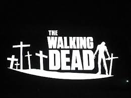 The Walking Dead Zombie Graveyard Vinyl Decal Bumper Sticker Car Window 75039 Ebay