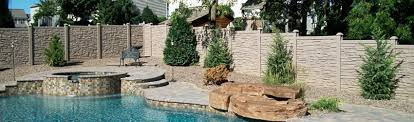 Faux Rock Faux Stone Fencing For Western New York