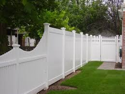 Pvc Fences Gates Double Virgin Vinyl Fencing Liberty Fence Railing In 2020 Vinyl Fence Landscaping Pvc Fence White Vinyl Fence