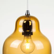 jelly pendant light yellow by