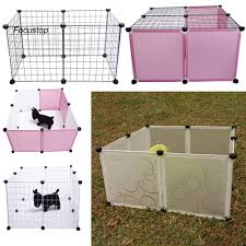 2020 Ready Stock Portable Diy Dog Playpen Puppy Crate Metal Wire Kennel Detachable Pet Fence Cage Lazada Ph