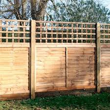 1828x450mm 18 Brown Pressure Treated Heavy Duty Square Trellis Lawsons