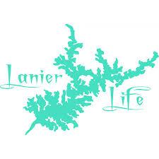 Lanier Life Vinyl Decal Mint