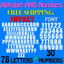 Vinyl Letters And Numbers Products For Sale Ebay