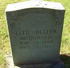 Effie Dellar McDonald (Patterson) (1889 - 1911) - Genealogy
