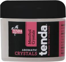 tenda menthol aromatic crystals horse
