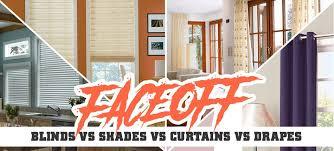 Faceoff Blinds Vs Shades Vs Curtains Vs Drapes Blindster Blog