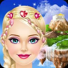 fantasy princess s makeup dress