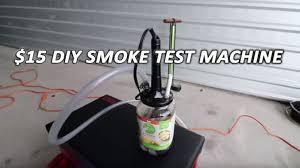 diy smoke machine finds vacuum leaks fast