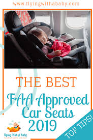 faa approved car seats airline