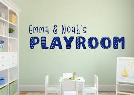 Playroom Wall Decal Play Room Decal Playroom Wall Decor Etsy