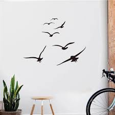 Aooyou Seagull Wall Stickers Mobile Creative Wall Affixed With Decorative Wall Window Decoration High Quality Wall Sticker A78 Wall Stickers Aliexpress