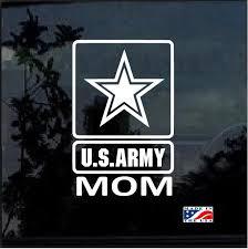 Army Proud Mom Military Window Decal Stickers Custom Sticker Shop