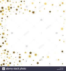 Estrellas De Oro Sobre Un Fondo Blanco Vector Iilustration
