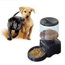 automatic timed cat dog pet feeder food