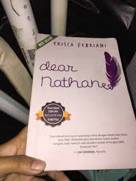 novel dear nathan quote cinta tanpa batas books stationery