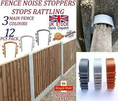 Fence Noise Stoppers Bag Of 10 Choice Of 6 Colours Stops Rattling 12 95 Picclick Uk