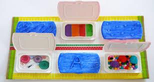 diy sensory board for es and
